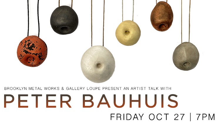 Artist Talk with Peter Bauhuis | Chains and Flowers