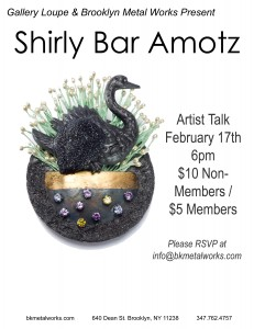 Artist Talk with Shirly Bar-Amotz