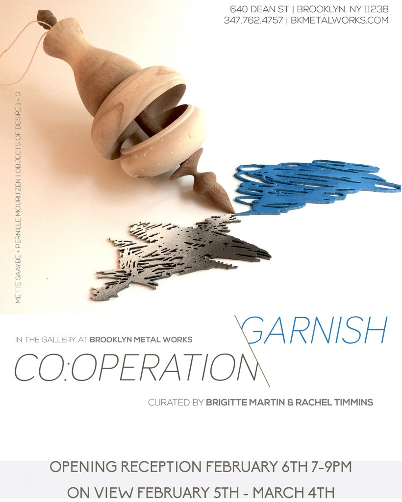 Co:Operation Garnish Flyer