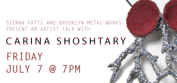 Artist Talk with Carina Shoshtary